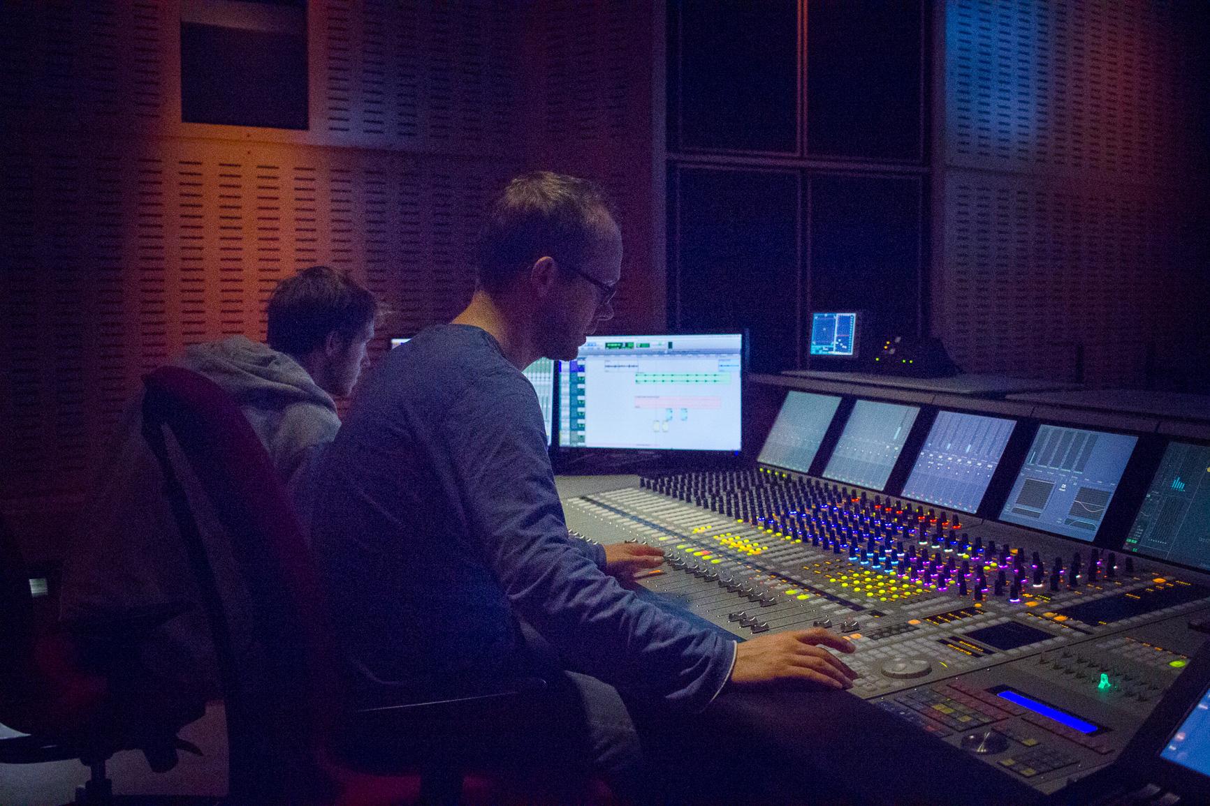 Mixage, montage audio