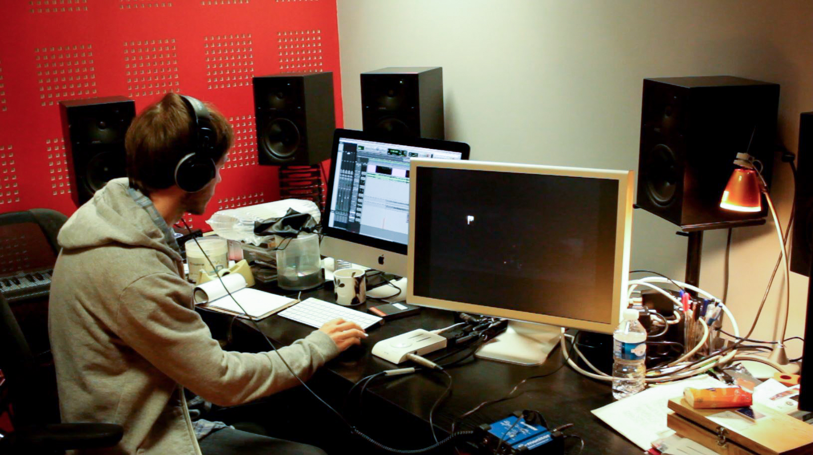 Benoît Duvette, Art Zoyd Studio, Compositeur, musique de film, protools