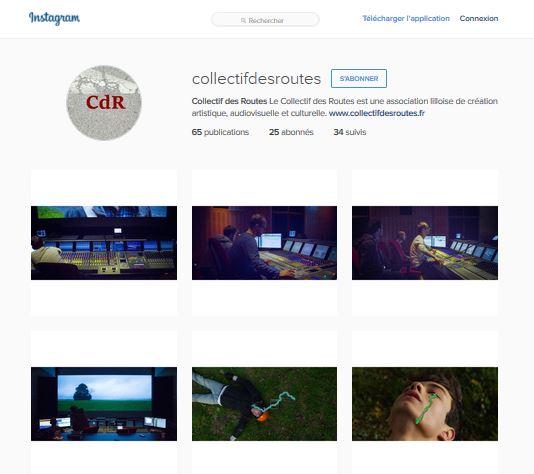 Instagram Collectif des Routes