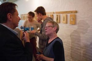 Oeuvres d'art de Joséphine Dominault Mallens, Exposition, rencontre avec l'artiste