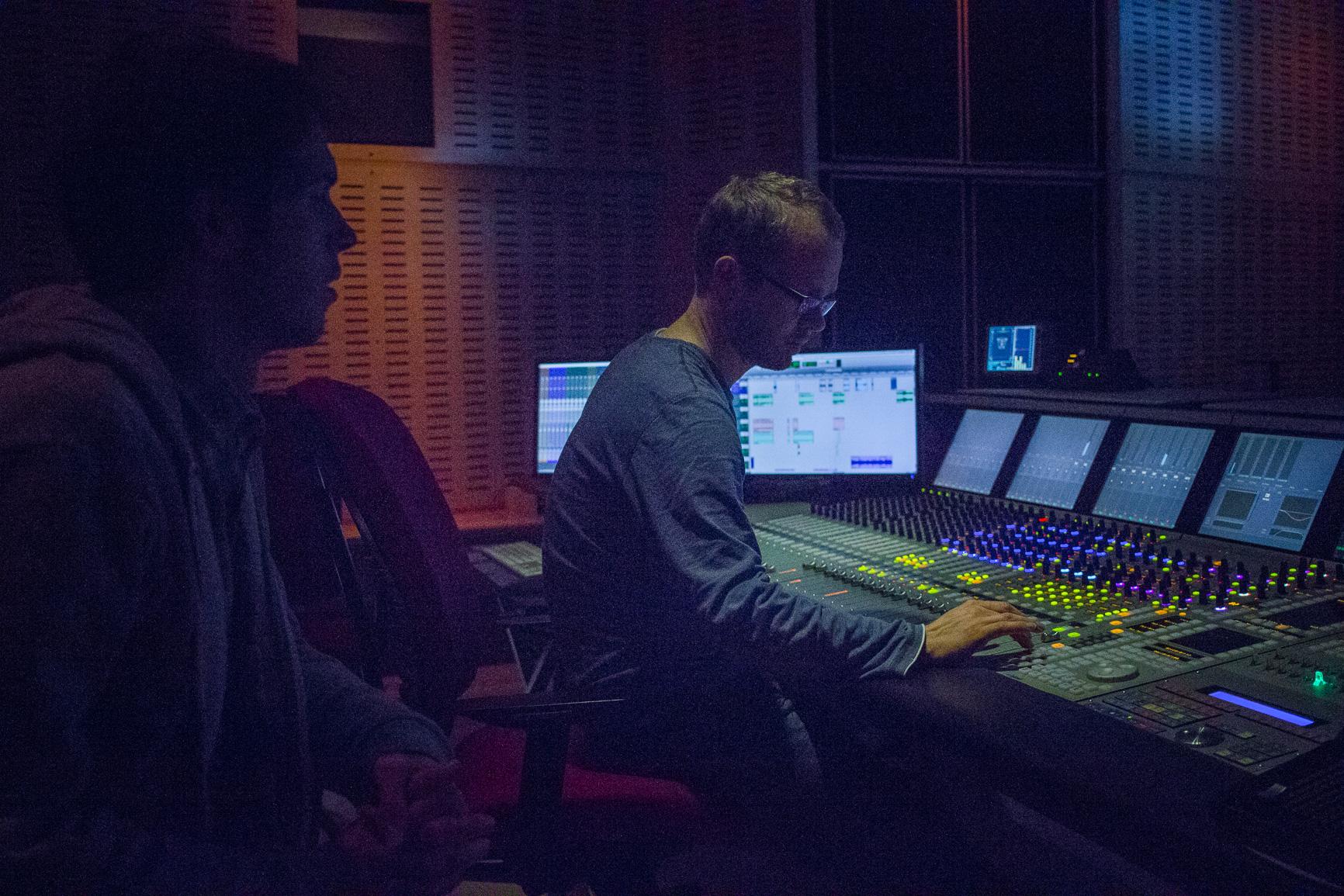 création, mixage