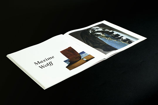 Maxime Wolff, collage