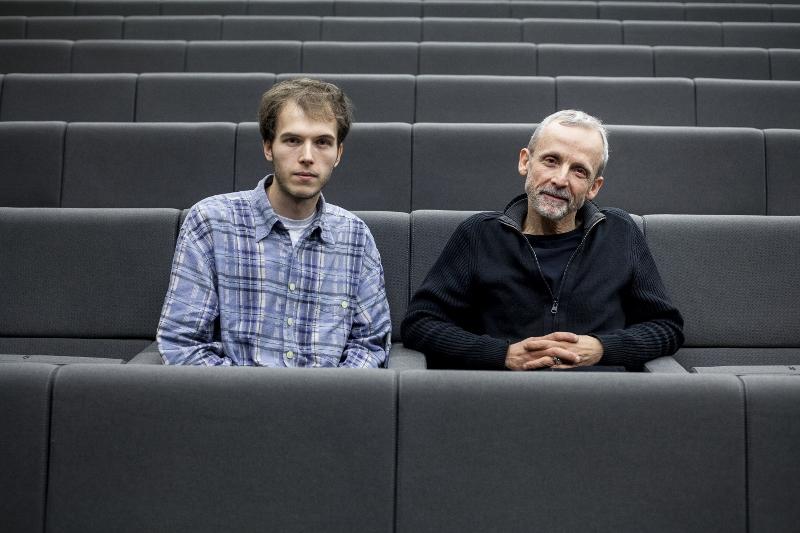 Benoît Duvette et Mathieu Riboulet lors de la projection technique du court-métrage Le Corps des Anges